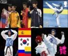 Taekwondo - 58kg masculino LDN 12