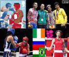 Boxe leve feminino Londres 2012