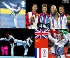Taekwondo - 57kg feminino LDN 2012