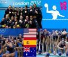Polo aquático mulheres LDN 2012