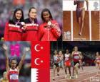 1.500 metros feminino Londres 2012