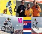 BMX feminino Londres 2012