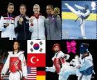 Taekwondo - 67kg mulheres LDN12