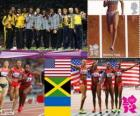 4x100 m mulheres Londres 2012