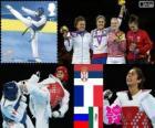 Taekwondo acima 67kg mulheresLDN12