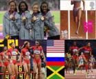 Atletismo 4x400m feminino LDN2012