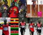 Atletismo maratona masculin LDN12