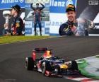 Sebastian Vettel comemora vitória no Grand Prix do Japão 2012