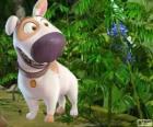Jeff, o cão amigo do Tad