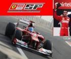 Fernando Alonso - Ferrari - grande prêmio da Índia 2012, 2º classificado