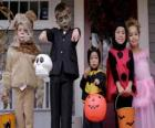 Trajes de Halloween para crianças