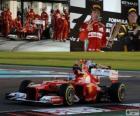 Fernando Alonso - Ferrari - Grande Prêmio de Abu Dhabi 2012, 2º classificado