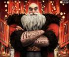 Norte, mais conhecido como Pai Natal. Personagem de A Origem dos Guardiões