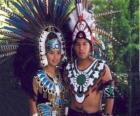 Príncipe e Princesa Azteca