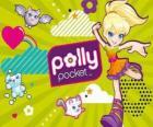 Polly Pocket com seus animais de estimação