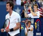 Andy Murray campeão US Open 2012