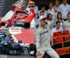 Michael Schumacher se aposentou da F1, o GP do Brasil 2012