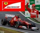 Felipe Massa - Ferrari - Grande Prémio do Brasil de 2012, 3º classificado