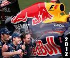 Red Bull Racing Campeão do Mundo de Construtores FIA 2012