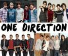 Os 5 membros do grupo One Direction