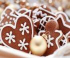 Biscoitos de Natal de várias formas