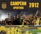 Club Atlético Peñarol campeão Torneo Apertura 2012, Uruguai