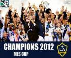 O Los Angeles Galaxy, campeão da MLS Cup 2012