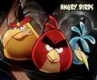 Outras três pássaros de videogame Angry Birds