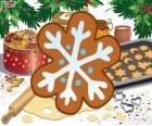 Biscoito de floco de neve