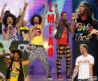 LMFAO foi um grupo americano de rap e electro hop