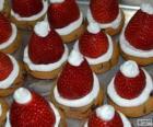 Delicioso Papai Noel chapéus