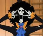 Brook Somente Ossos, um esqueleto músico de One Piece