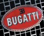 Logo da Bugatti, marca francesa de origem italiana
