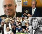 Distinção presidencial da FIFA de 2012 para Franz Beckenbauer