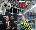 Prêmio Puskás Copa de 2012 para Miroslav Stoch