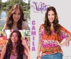 Camila é amiga íntima de Maxi e Francesca