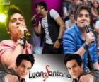 Luan Santana, cantor e compositor brasileiro