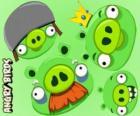 Os porcos de Angry Birds