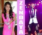 Zendaya, uma cantora e compositora americano