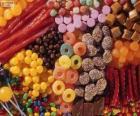 Um monte de doces