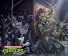 Tartarugas Ninja em ação