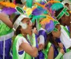 Crianças no Carnaval