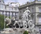 Fonte de Cibeles, Madrid, Espanha