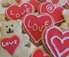 Biscoitos para celebrar o dia dos Namorados