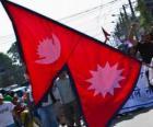 A bandeira do Nepal