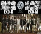 EXO é uma boy band chinesa-sul-coreana