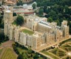 O Castelo de Windsor, Inglaterra