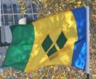 Bandeira de São Vicente e Granadinas