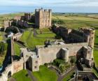 O Castelo de Bamburgh, Inglaterra