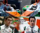 Sahara Force India F1 Team 2013, Paul di Resta e Adrian Sutil